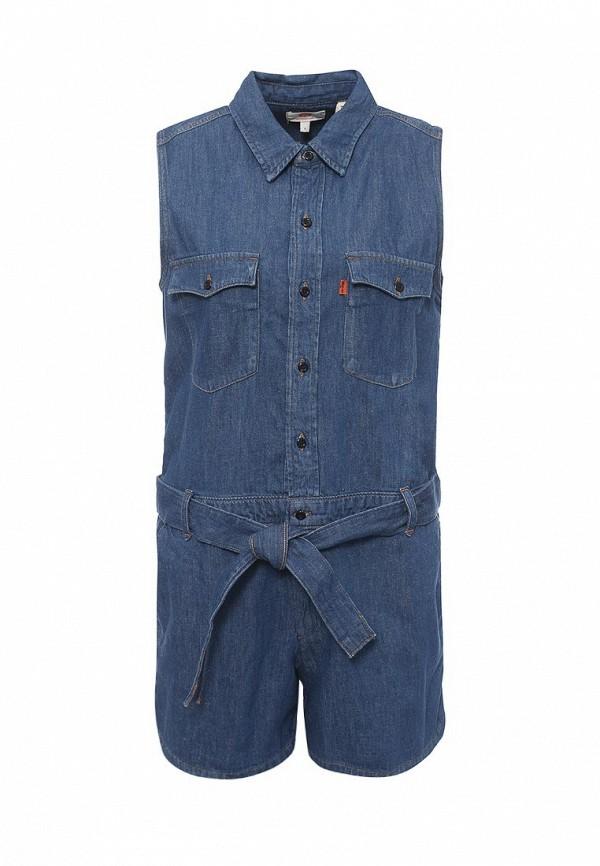 Купить Комбинезон джинсовый Levi's®, Orange Tab, LE306EWPIV32, синий, Весна-лето 2017