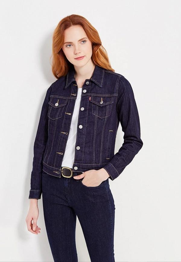 Купить Куртка джинсовая Levi's®, ORIGINAL TRUCKER, LE306EWULV43, синий, Весна-лето 2018