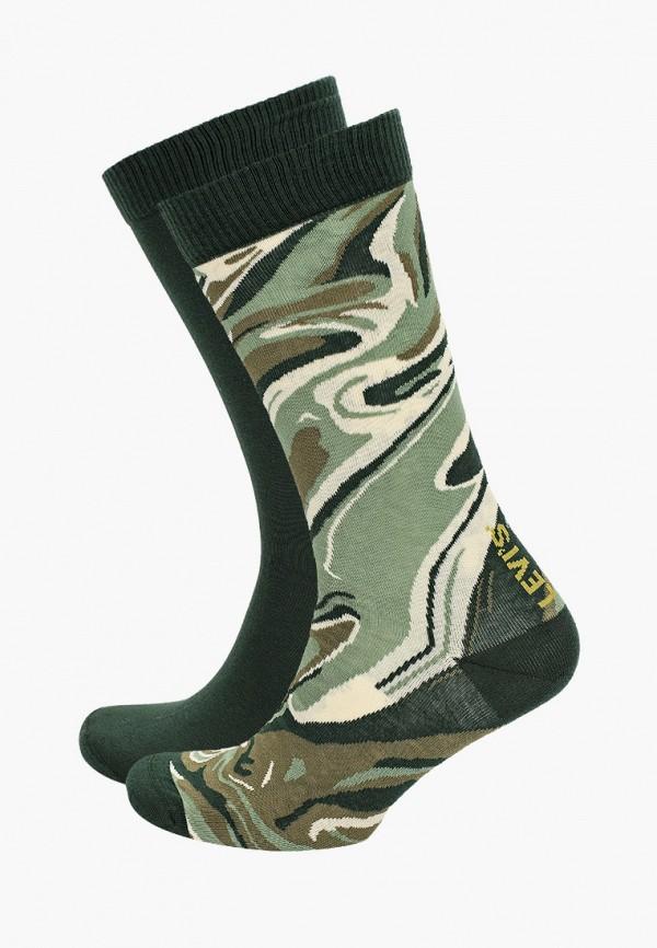 мужские носки levi's®, зеленые