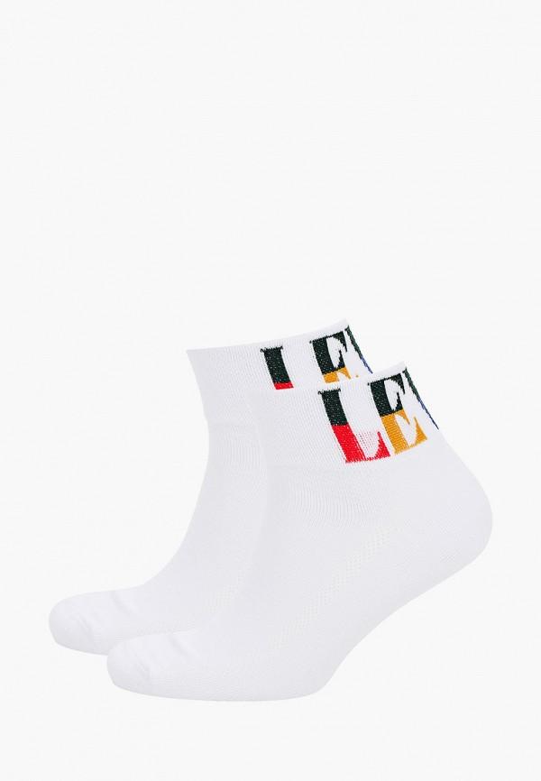 мужские носки levi's®, белые