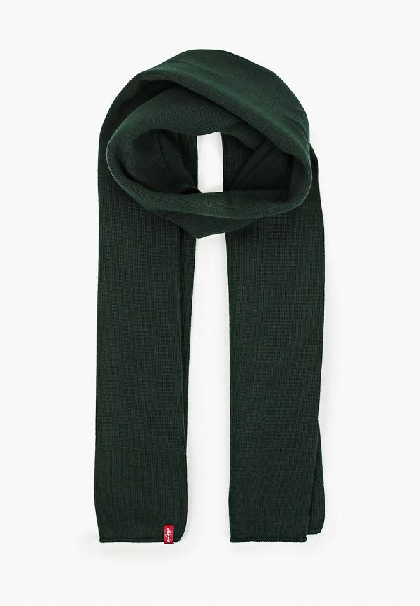 мужской шарф levi's®, зеленый