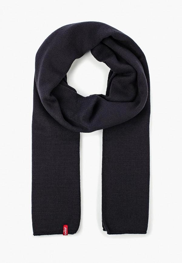 мужской шарф levi's®, синий