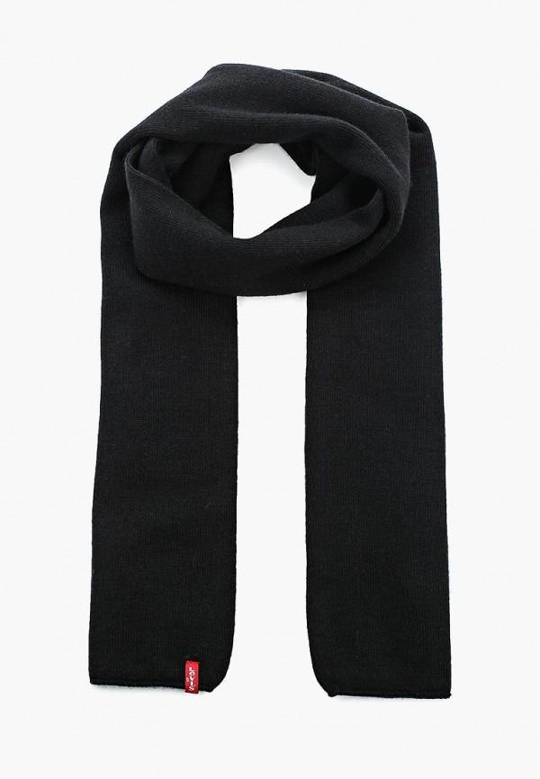 мужской шарф levi's®, черный