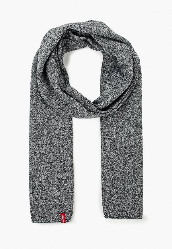 мужской шарф levi's®, серый