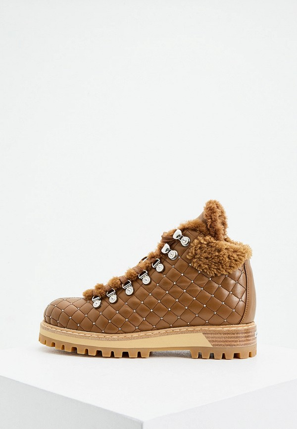 женские ботинки le silla, коричневые