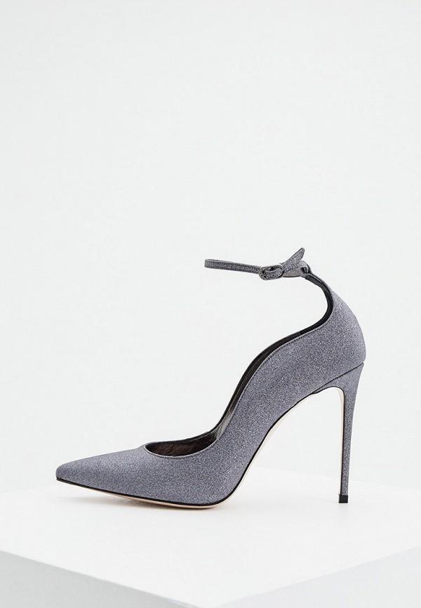 женские туфли le silla, серые