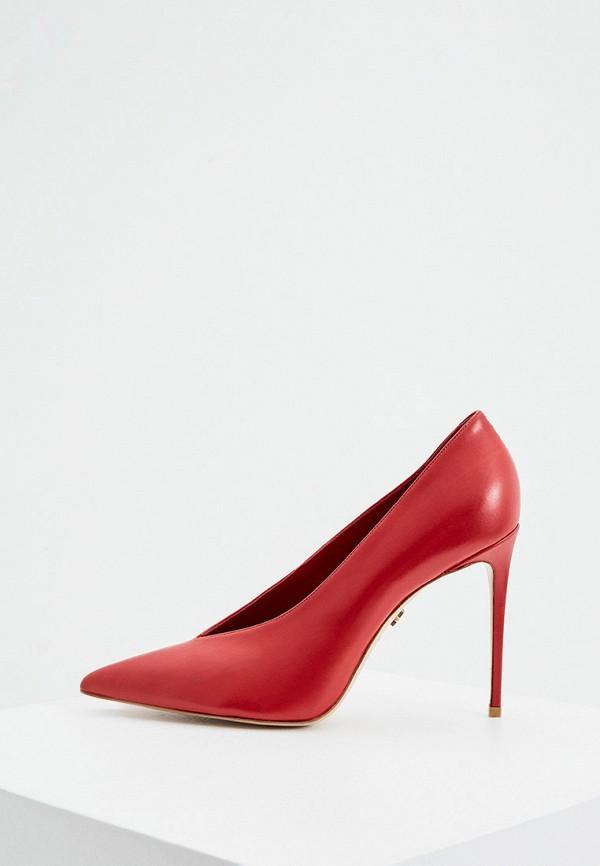 женские туфли le silla, красные