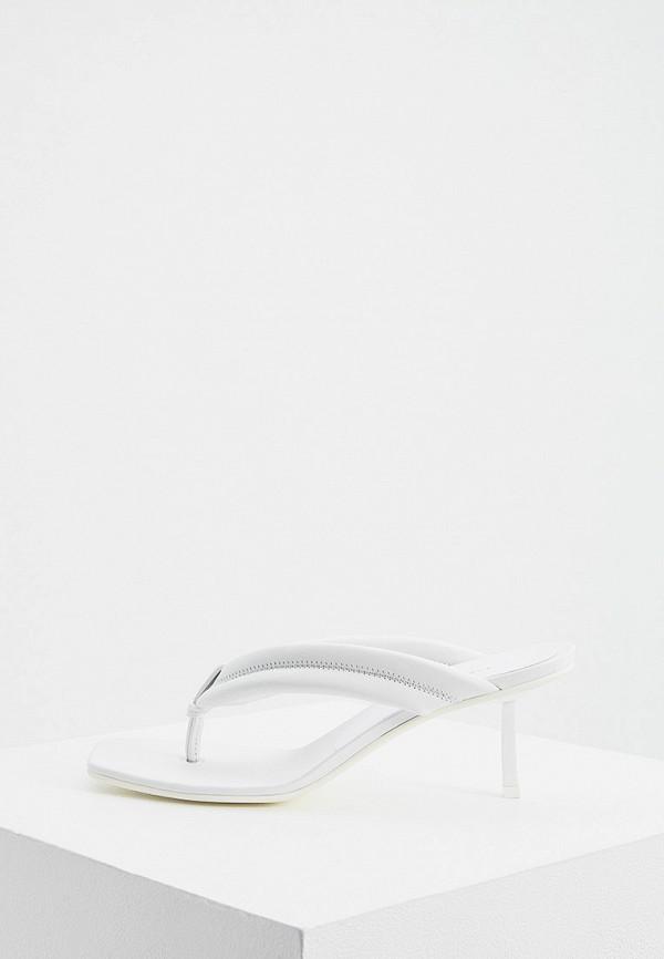 женское сабо le silla, белое
