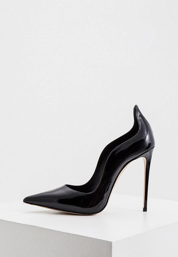 женские туфли-лодочки le silla, черные