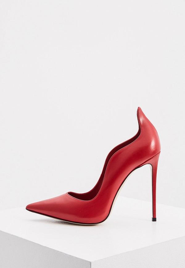 женские туфли-лодочки le silla, красные