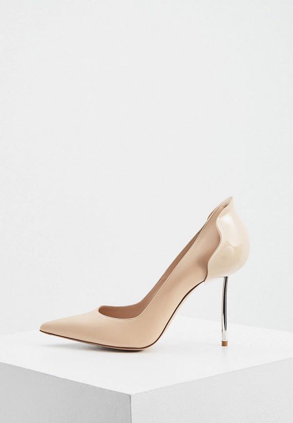 женские туфли-лодочки le silla, бежевые