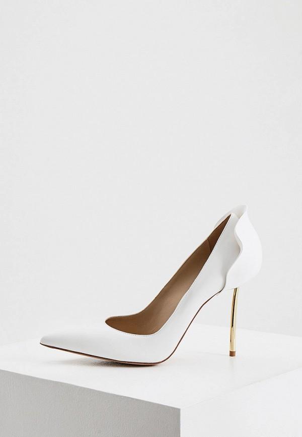 женские туфли-лодочки le silla, белые
