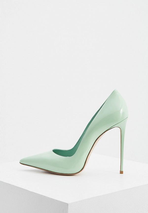 женские туфли-лодочки le silla, зеленые