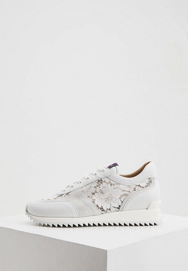 женские кроссовки le silla, белые