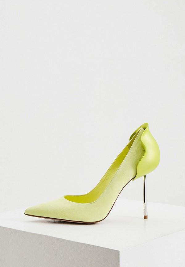 женские туфли-лодочки le silla, желтые