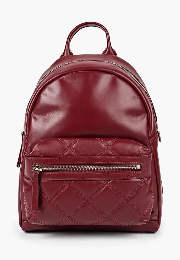 женский рюкзак leo ventoni, бордовый