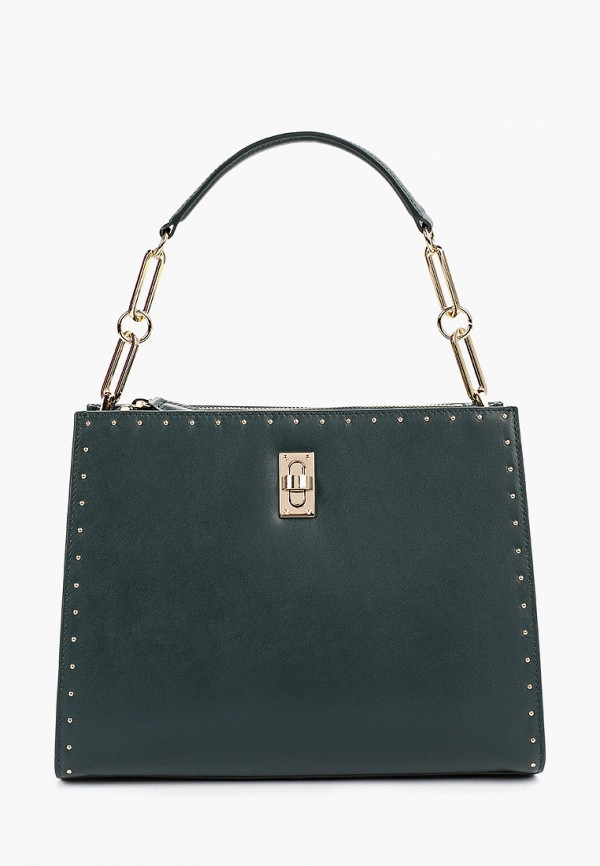 женская сумка leo ventoni, зеленая