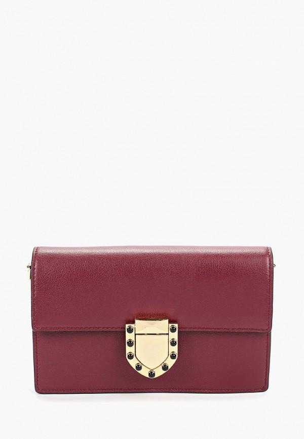 женская сумка leo ventoni, бордовая