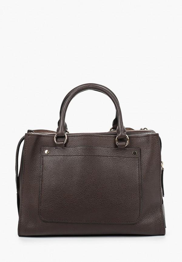 женская сумка через плечо leo ventoni, коричневая
