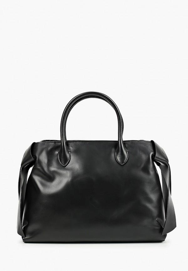 женская сумка с ручками leo ventoni, черная