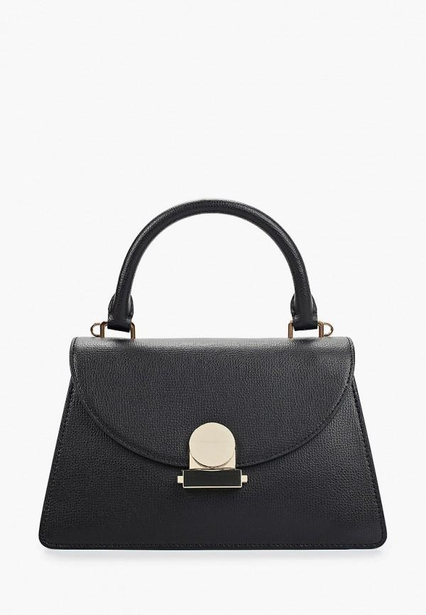 женская сумка через плечо leo ventoni, черная