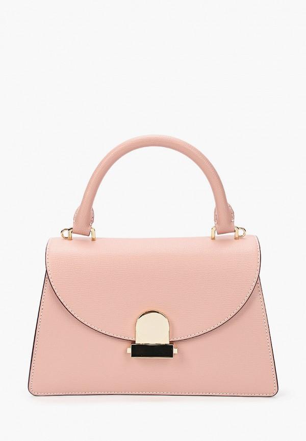 женская сумка через плечо leo ventoni, синяя