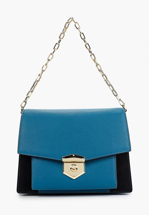 женская сумка leo ventoni, синяя