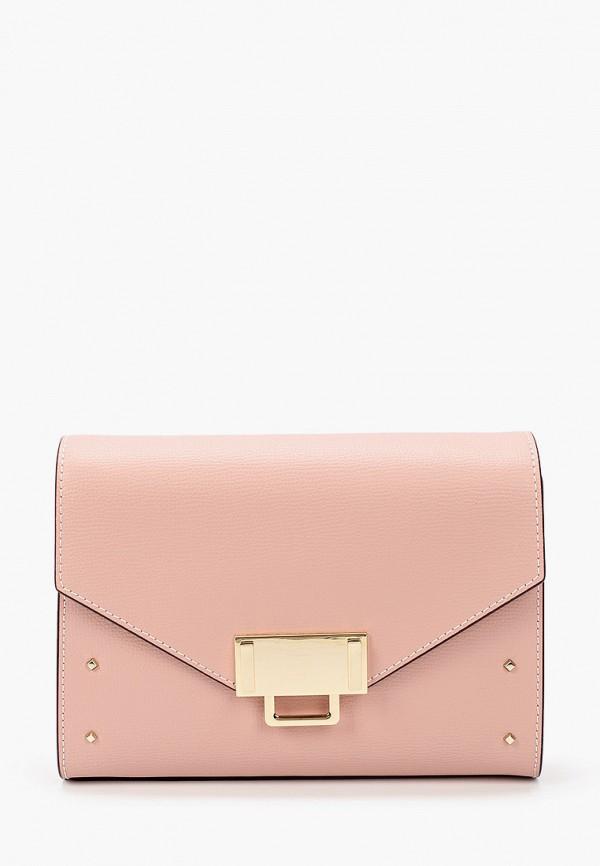 женская сумка leo ventoni, розовая