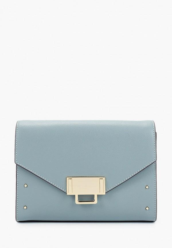 женская сумка через плечо leo ventoni, голубая