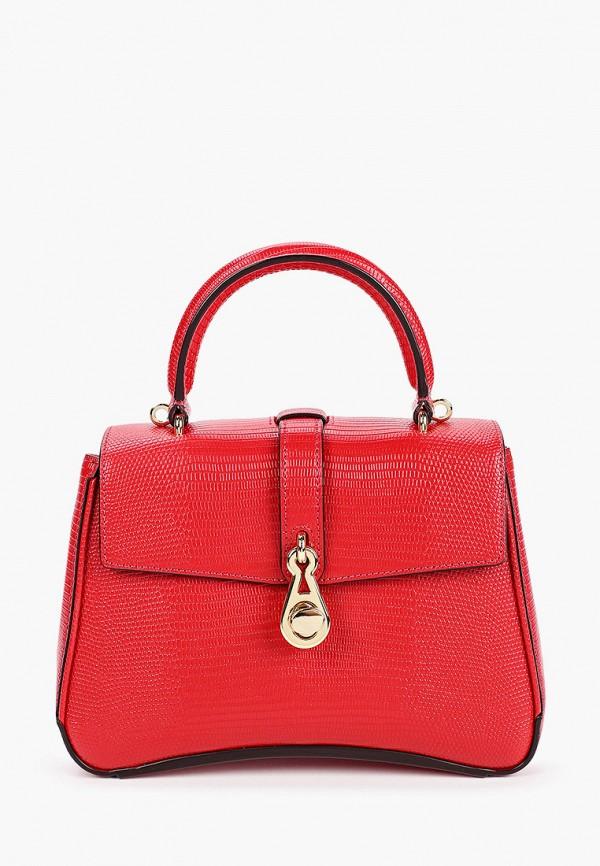 женская сумка через плечо leo ventoni, красная