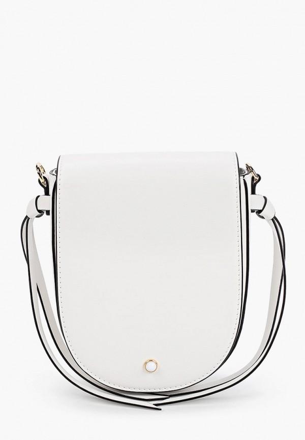 женская сумка через плечо leo ventoni, белая