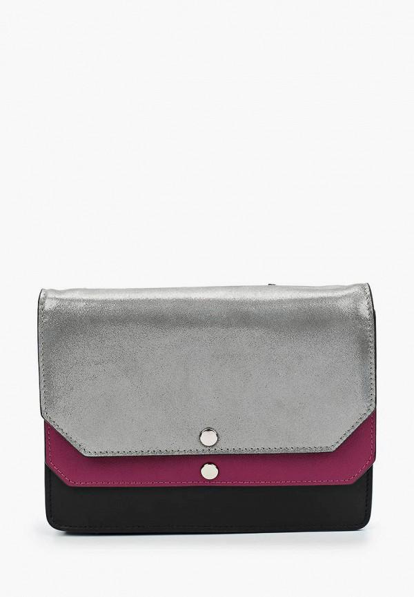 женская сумка через плечо leo ventoni, разноцветная