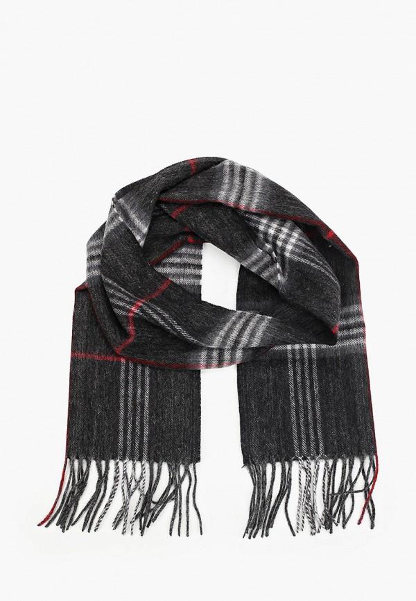 мужской шарф leo ventoni, черный