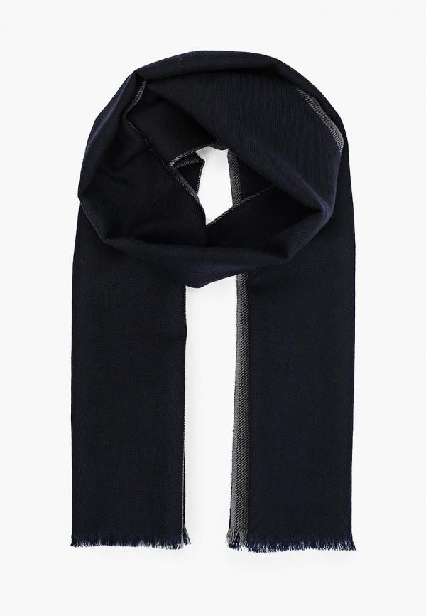 мужской шарф leo ventoni, синий