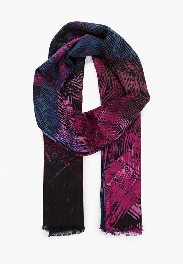 женский шарф leo ventoni, фиолетовый