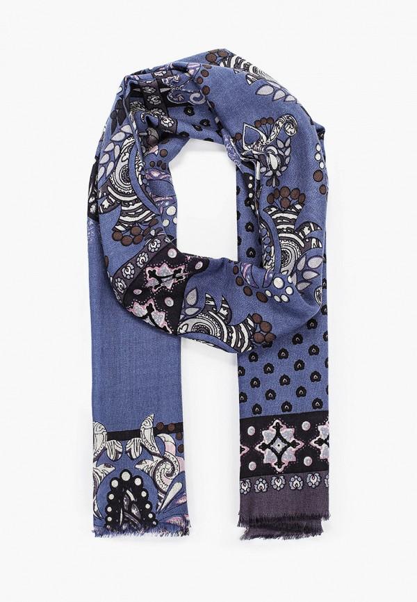 женский шарф leo ventoni, синий