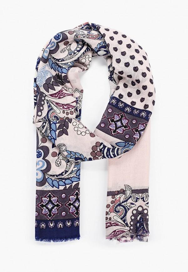 женский шарф leo ventoni, розовый