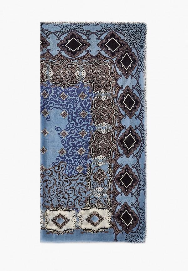 женский платок leo ventoni, бирюзовый