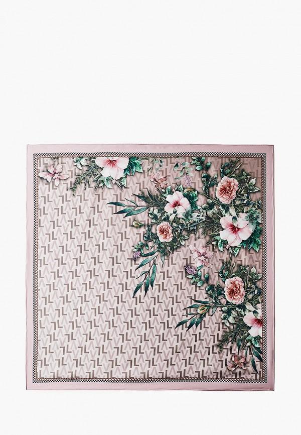 женский платок leo ventoni, розовый