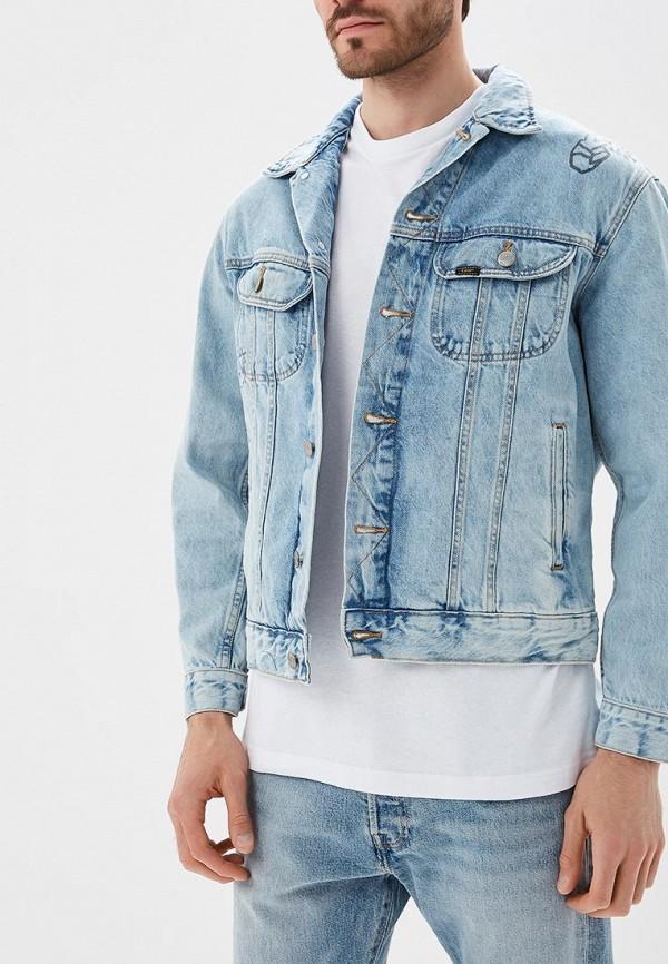 Купить Куртка джинсовая Lee, LE807EMBOGY3, голубой, Осень-зима 2018/2019