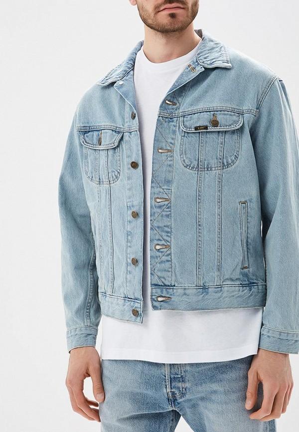 Купить Куртка джинсовая Lee, LE807EMBOGY4, голубой, Осень-зима 2018/2019
