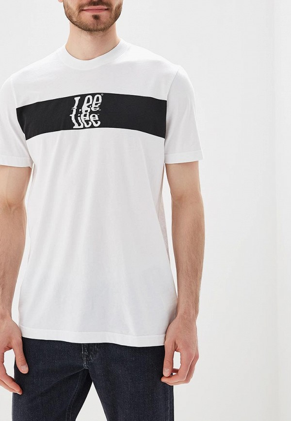 Футболка Lee Lee LE807EMBOGZ2 блуза topshop topshop to029ewyja50