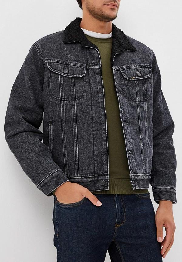 Купить Куртка джинсовая Lee, LE807EMBOHI2, черный, Осень-зима 2018/2019