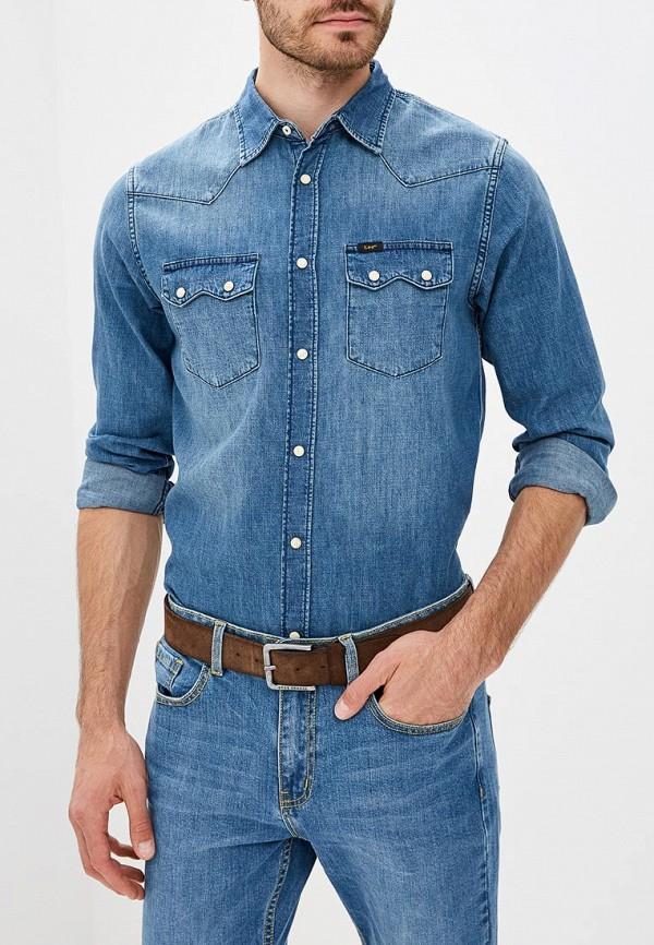 Рубашка джинсовая Lee Lee LE807EMBOHI5 caspar lee