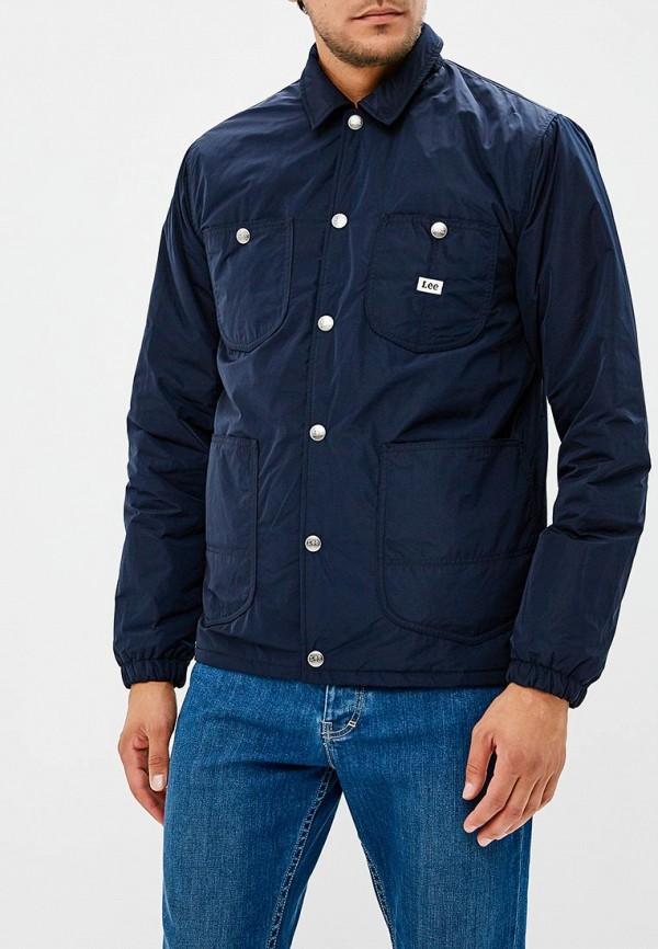 Куртка утепленная Lee Lee LE807EMBOHJ0 куртка джинсовая lee lee le807emaksy8