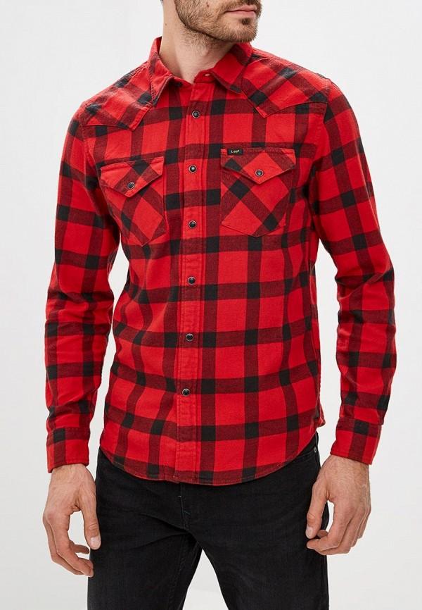 Купить Рубашка Lee, LE807EMBOHJ3, красный, Осень-зима 2018/2019