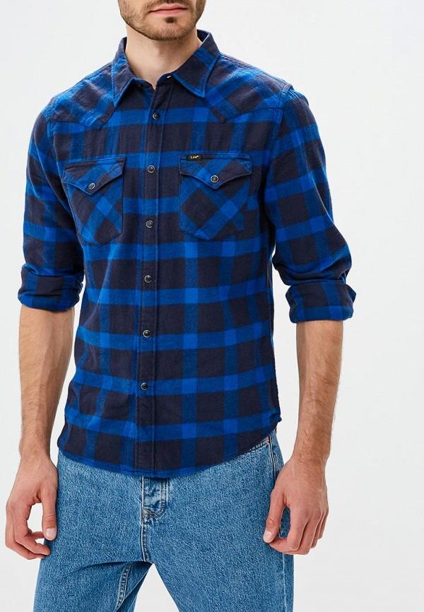 Купить Рубашка Lee, LE807EMBOHJ4, синий, Осень-зима 2018/2019