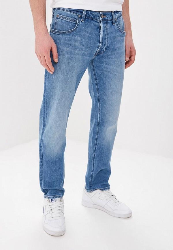 мужские джинсы lee, голубые