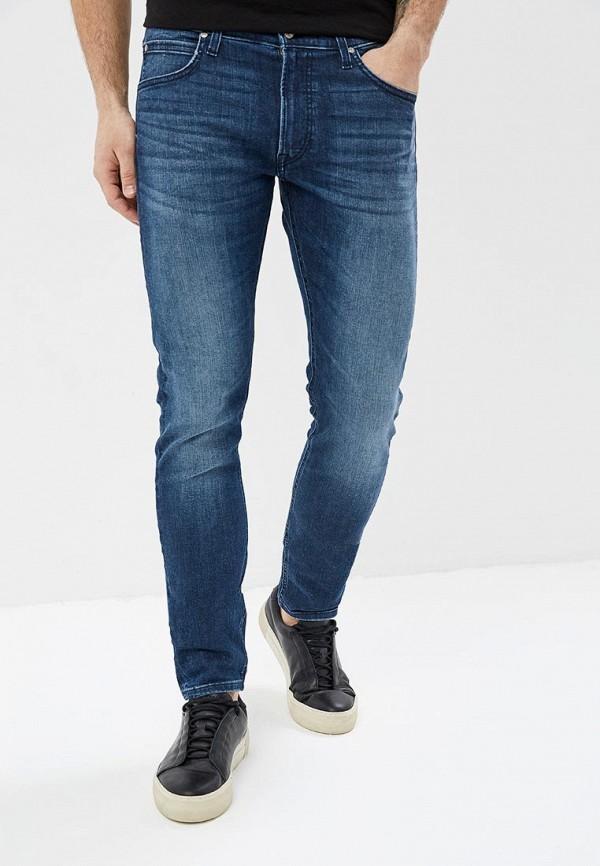 мужские джинсы lee, синие