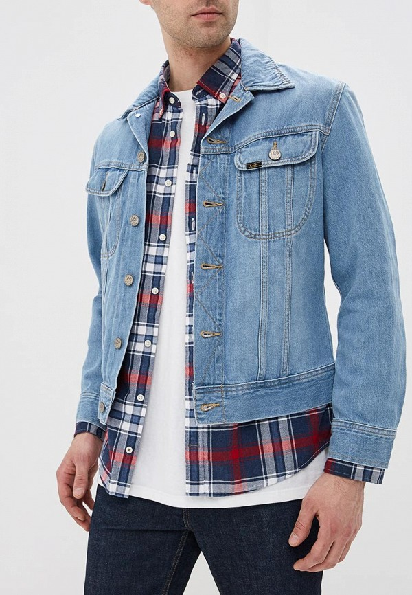 Куртка джинсовая Lee Lee LE807EMDFXW1 куртка джинсовая lee lee le807embohi2